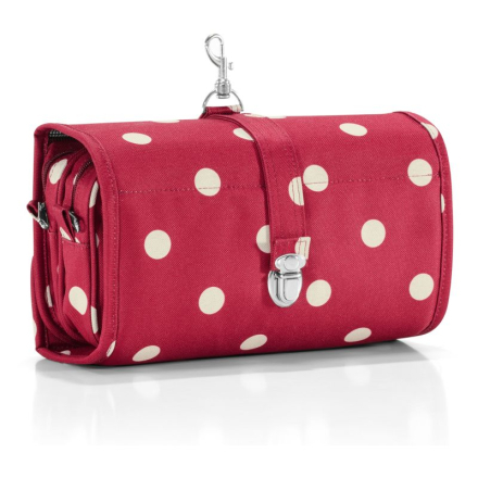 Necessär, Wrapcosmetic Ruby Dots Reisenthel