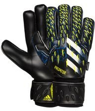 adidas Keeperhanske Predator Match Fingersave Superlative - Sort/Blå/Gul