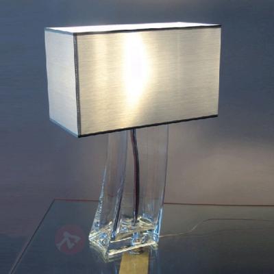 Tilltalande bordslampa SABRINA transparent