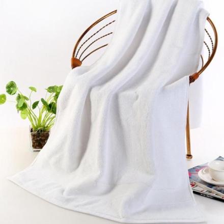 Badehåndkle 70 x 140cm - Hvit