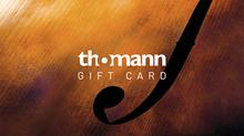 Thomann Gift Certificate 50 EUR
