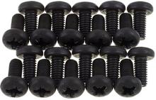 Adam Hall 5417BLK Rack Screw Pack