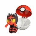 Pokémon Figurer - Litten I Pokéball Sæt - Gucca