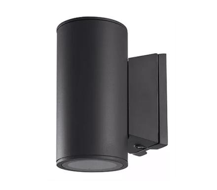 Roma Vegglampe Opp/Ned 2X6W 2700K IP65 Grafitt