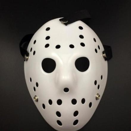 Fredag den 13 hockeymaske - Hvit