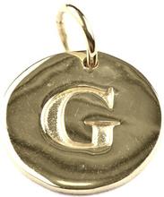 Beloved Letter Silver G, ONESIZE