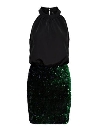 ONLY Halterneck Sleeveless Dress Women Black