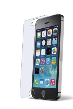 Cellularline Second Glas, hårt skyddsglas till iPhone 5/5S