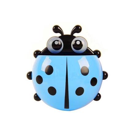 Ladybug tannbørsteholder - Blå