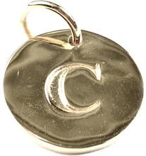 Beloved Letter Silver C, ONESIZE