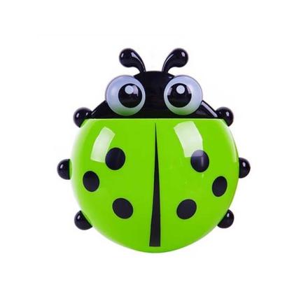 Ladybug tannbørsteholder - Grønn