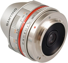 Samyang 7,5mm Fisheye Micro 4/3 Silver for Panasonic Olympus