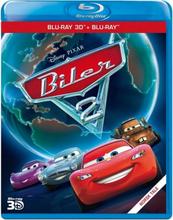 Disney Pixar 12: Biler 2 (3D+2D Blu-ray)
