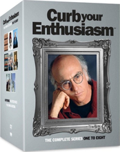 Curb Your Enthusiasm - Season 1-8 (17 disc) (Import)