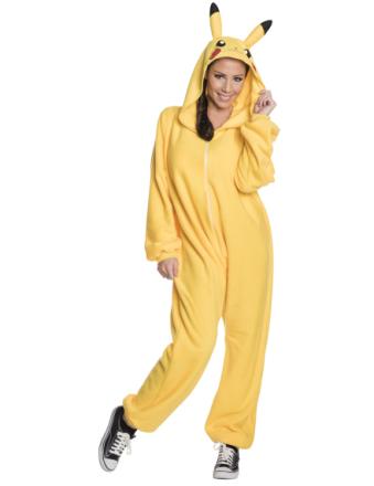 Kostumet Pikachu Pokémon til voksne - Vegaoo.dk