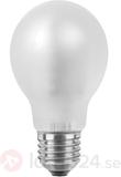 E27 5,7W 826 LED-glödlampa dimbar matt varmvit