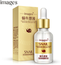 IMAGES Snail Serum Facial Moisturizer Liquid Essence Collagen Face Care Whitening Lifting Skin Ageless Anti Aging Anti Wrinkles
