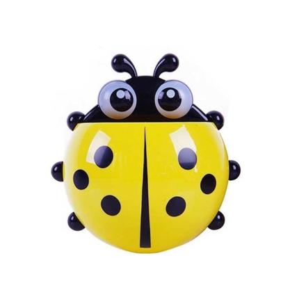 Ladybug tannbørsteholder - Gul