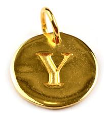 Beloved Letter Silver Y, ONESIZE