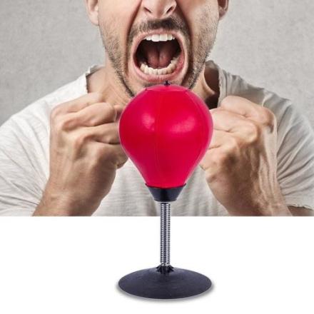 Boksesekk stressball med sugekopp