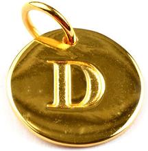 Beloved Letter Gold D, ONESIZE
