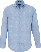 Skjorta button down-krage från GANT blå