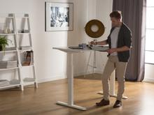 Skrivebord 180x80 cm Elektrisk Justerbar Hvid Uplift
