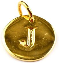 Beloved Letter Gold J, ONESIZE