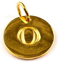 Beloved Letter Gold O, ONESIZE