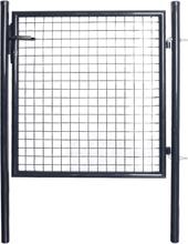 Hageport netting galvanisert stål 85,5x100 cm grå