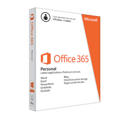 Microsoft Office 365 Personal - 5 enheder / 1 User