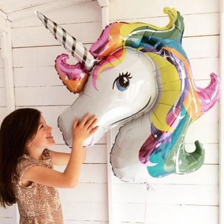 Formet Folie Ballong Unicorn Dream