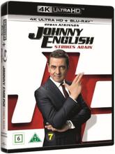 Johnny English Strikes Again (4K Ultra HD + Blu-ray) (2 disc)