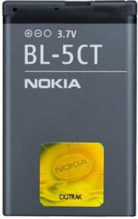 Nokia BL-5CT batteri til Nokia 3720 6303 6730 C3-01 C5-00 (med flere)