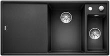 Blanco Axia 6S MXI Kjøkkenvask 100x51 cm m/InFino kurvventil, Silgranit Antrasittgrå