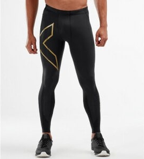 2XU MCS BB Comp Tights, Black/Gold