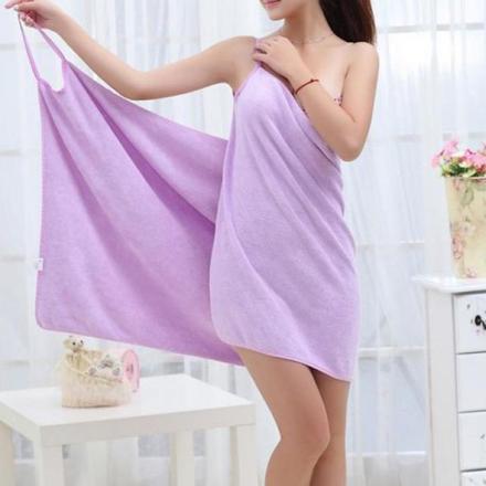Towel Dress - Håndklekjole blå