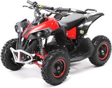 Mini ATV Reneblade1000w elektrisk sort-rød
