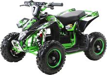 FOX XTR elektrisk ATV for barn 1000W sort og grønn
