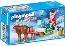 9496 Playmobil Nissen slede med rein