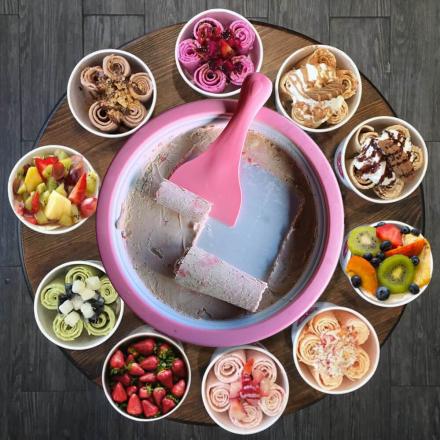 Ice Cream Roll Maker – Lag dine egne iskremruller