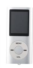 Slim MP3-afspiller med FM-radio-support - Sølv
