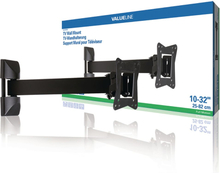 "TV Veggfeste - Fullt Justerbart 10 - 32"" 30 kg TVWM21BK"