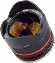 Samyang 8 MM F/2.8 UMC Fisheye II Sony E Black