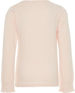 NAME IT Kids Wool-silk Long-sleeved T-shirt Kvinna Rosa