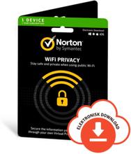 Norton WiFi Privacy VPN - 1 enhed (Win/Mac/Android/iOS)