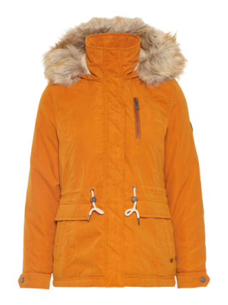 VERO MODA Winter Parka Women Orange