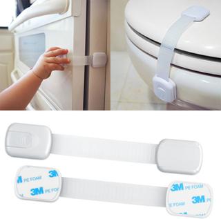 6-pack - lås / barnlås för luckor, vit - barnsäkerhet