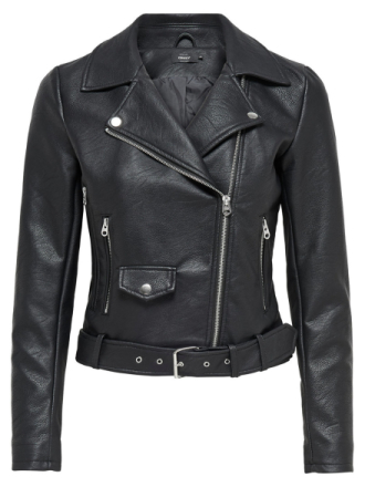 ONLY Biker Jacket Women Black