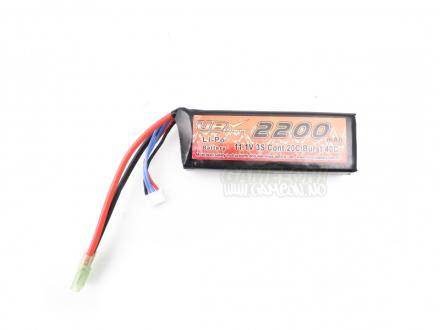 Li-Po Batteri - 11.1V 2200mah